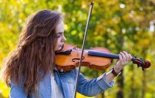 como tocar violino