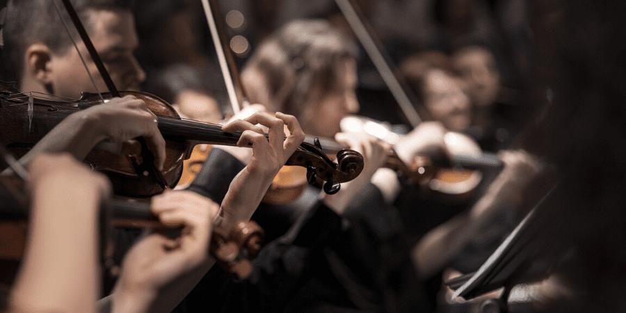 instrumentos de uma orquestra